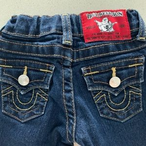 True Religion toddler Jean 12-18 months